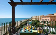 View IPV Beatriz Palace Hotel's scenic sea view balcony situated in gorgeous Costa Del Sol.