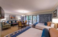 The Innisbrook, A Salamander Golf  Spa Resort's scenic double bedroom situated in gorgeous Florida.