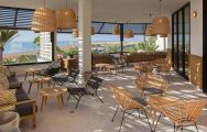 The Corallium Dunamar Hotel's beautiful restaurant situated in faultless Gran Canaria.