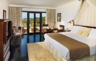 View Hotel Las Madrigueras's beautiful double bedroom within spectacular Tenerife.