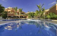 The Hotel Las Madrigueras's picturesque main pool in incredible Tenerife.
