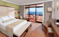 The Hotel Fuerte Marbella's picturesque double bedroom within magnificent Costa Del Sol.