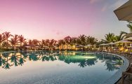 View Hard Rock Hotel  Casino Punta Cana's lovely main pool in magnificent Dominican Republic.