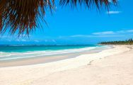 The Hard Rock Hotel  Casino Punta Cana's scenic beach in sensational Dominican Republic.