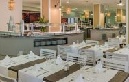 View H10 Salou Princess's lovely restaurant within dramatic Costa Dorada.