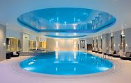View Gleneagles's lovely indoor pool in magnificent Scotland.