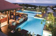 View Fairmont Zimbali Resort's impressive main pool in dazzling South Africa.