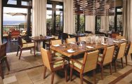 The Fairmont Zimbali Resort's scenic restaurant in vibrant South Africa.