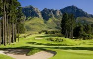 The Erinvale Estate Hotel  Spa's scenic golf course in vibrant South Africa.