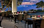 The Dusit Thani Hotel's scenic restaurant in sensational Pattaya.