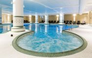 View Dunston Hall's scenic indoor pool situated in stunning Norfolk.