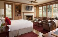 View Rosewood CordeValle's picturesque double bedroom situated in sensational California.