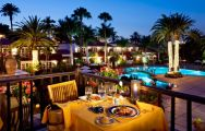 The Seaside Grand Hotel Residencia's impressive restaurant situated in staggering Gran Canaria.