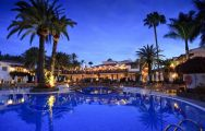 The Seaside Grand Hotel Residencia's beautiful main pool within brilliant Gran Canaria.