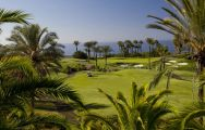 The Abama Golf's scenic golf course in sensational Tenerife.