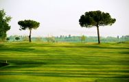 The Adriatic Golf Club Cervia's scenic golf course situated in dramatic Northern Italy.