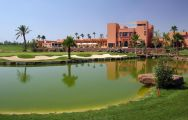 The Al Maaden Golf Course's picturesque golf course situated in impressive Morocco.