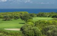 The Alcaidesa Heathland Course's lovely golf course situated in staggering Costa Del Sol.