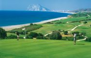 The Alcaidesa Heathland Course's beautiful golf course in striking Costa Del Sol.