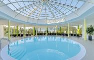 View Furstenhof Hotel's scenic main pool within amazing Germany.