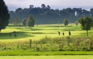 The Porsche Golf Course's beautiful golf course in brilliant Germany.