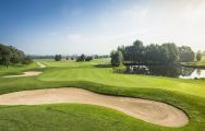 The St Wolfgang Golf Course Uttlau's picturesque golf course situated in incredible Germany.