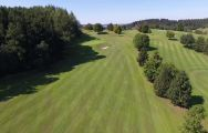 The Lederbach Golf Course's lovely golf course within stunning Germany.