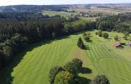 The Lederbach Golf Course's scenic golf course within dazzling Germany.