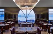 The St Regis Doha's scenic Opal by Gordon Ramsay restaurant in spectacular Qatar.