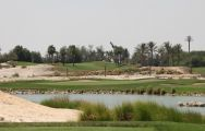 View Doha Golf Club's lovely golf course in astounding Qatar.