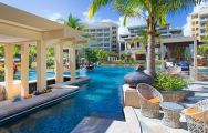 The Sheraton Sanya Haitang Bay Resort's picturesque main pool in stunning China.
