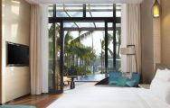 View The Westin Sanya Haitang Bay Resort's lovely double bedroom in marvelous China.
