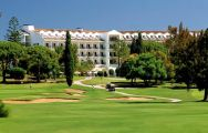 View Penina Golf Resort Hotel's beautiful golf course in vibrant Algarve.