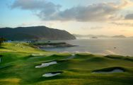 View Clearwater Bay Golf  Country Club's impressive golf course in dazzling China.