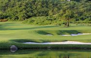 The Sanya Luhuitou Golf Course's lovely golf course within fantastic China.