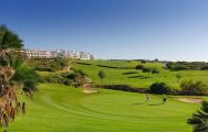 The Alcaidesa Links Course's picturesque golf course within stunning Costa Del Sol.