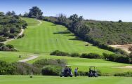 The Alcaidesa Links Course's impressive golf course situated in vibrant Costa Del Sol.