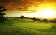 The Celtic Manor Resort Golf's beautiful golf course situated in spectacular Wales.