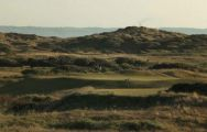 The Saunton Golf Course's scenic golf course within magnificent Devon.