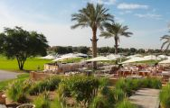 The Arabian Ranches Golf Club's scenic golf course within incredible Dubai.