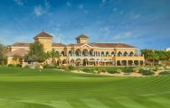 View The Els Club's lovely green in magnificent Dubai.