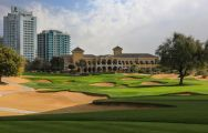 The Els Club's impressive golf course within astounding Dubai.