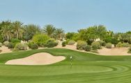 The Els Club's beautiful golf course within faultless Dubai.