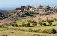 The Salobre Golf Course Old's scenic golf course in gorgeous Gran Canaria.