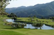 The Alhaurin Golf Course's scenic golf course within magnificent Costa Del Sol.