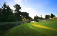 The Dunston Hall Golf's lovely golf course in gorgeous Norfolk.