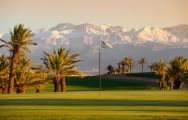 The Assoufid Golf Club's scenic golf course situated in dramatic Morocco.