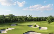 The Bangpra Golf Club's lovely golf course situated in staggering Pattaya.