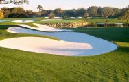 View Bay Hill Golf Club's scenic golf course situated in vibrant Florida.