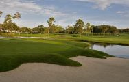 The Bay Hill Golf Club's picturesque golf course within stunning Florida.